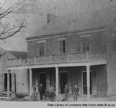 Leon Wolff store in Washington Louisiana :: State Library of Louisiana Historic Photograph Collection