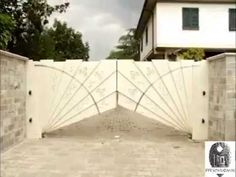 Awesome Gate Design - YouTube
