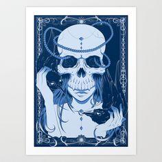 Völuspá Art Print by Katie Hodgson - $15.00