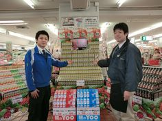 Mr.Takahashi of Itoen and Okamura buyer