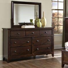 Imagio Home by Intercon Justine 7 Drawer Dresser