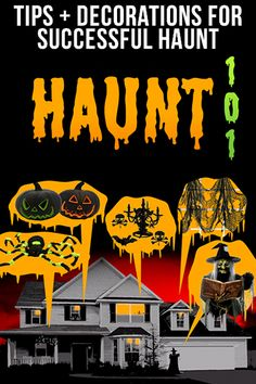 Building a haunted house doesn't have to be a nightmare. All you need is to understand the basics to get you started.