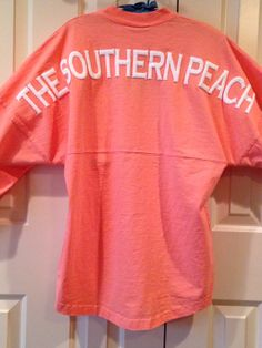 Monogrammed Long Sleeve Spirit Football Jersey by TheSouthernPeach, $63.00