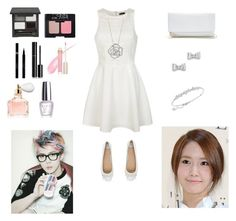 """""""Date with Sehun (Yoona!)"""" by fashionista-gurl-1 ❤ liked on Polyvore featuring Ally Fashion, Gioseppo, GUESS, Marc by Marc Jacobs, BERRICLE, Swarovski, Shin Choi, Chanel, NARS Cosmetics and Sisley"""