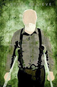 HERSCHEL GREENE The Walking Dead 2, Walking Dead Tv Series, Walking Dead Memes, Walking Dead Season, Walker Stalker, Art Poses, The Day Will Come, Dead Inside, Stuff And Thangs
