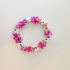 Laguna Flower Crown Flower Halo head band  by CaliforniaCrowns, $10.00