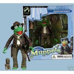 Adventure Kermit Muppets Action Figure