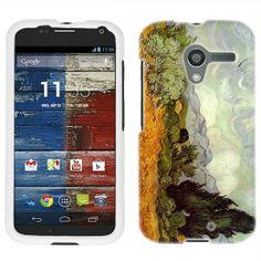 Amazon.com: Motorola Moto X Van Gogh Wheat Field with Cypresses Phone Case Cover: Cell Phones & Accessories