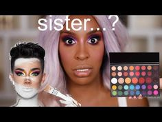 I'm The LAST PERSON To Review: James x Morphe Palette | Jackie Aina - YouTube Morphe Palette Review, Jackie Aina, Looks Dark, Hell Girl, Eye Makeup, Makeup Stuff, Makeup Inspo, Dark Skin, Concealer