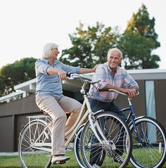 Biking is a wonderful, low-impact activity to get you moving - and outside!