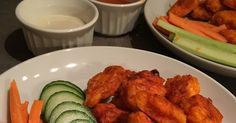 Since starting the 21 day fix I haven't been too adventurous with trying recipes. I did however find a recipe for Boneless Buffalo Wings tha...