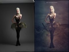 Before & After - Renee Robyn Photography Before And After Photoshop, Fun Shots, Dance Fashion, Photoshop Tutorial, Color Theory, Photo Editing, Model, Photography, Fictional Characters
