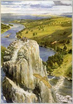 The Hobbit, Chapter VII: Queer Lodgings - Alan Lee