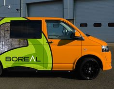 """Check out new work on my @Behance portfolio: """"Boreal car wrap proposal"""" http://be.net/gallery/37632195/Boreal-car-wrap-proposal"""