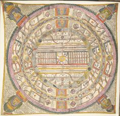 Aḍhāī-dvīpa Jain World Map / Cosmological diagram