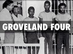 Three young Black men and a black teenager were at the center of a trial in Groveland, Florida that resulted in violence and wrongful imprisonment. What the Groveland four experienced would show how racism seeped into the justiced system to the point where justiced is never truly severed. Pinterest @sweetness