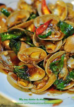 Bloggang.com : AdrenalineRush : หอยลายผัดพริกเผา อร่อยง่ายๆที่บ้านไม่ง้อร้านก็ได้