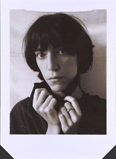 Robert Mapplethorpe (American, 1946-89). Patti Smith, 1974, Polaroid print. Gift of The Robert Mapplethorpe Foundation to the J. Paul Getty Trust and the Los Angeles County Museum of Art.