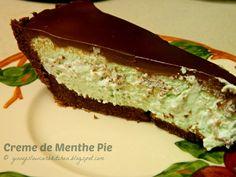 Ginny's Low Carb Kitchen: Creme de Menthe Pie