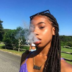 Smoking and glowing😊 Black Girls Hairstyles, Cute Hairstyles, Braided Hairstyles, High Society, Hair Inspo, Hair Inspiration, Curly Hair Styles, Natural Hair Styles, Stoner Girl