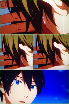 Free! ES ~~ That was the moment Haru should have gotten a clue. Did he? We'll see. :: Makoto and Haruka