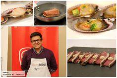 Asistimos a la clase magistral de cocina nikkei de Luis Arévalo y Yaquir Sato en el Showfood de Madrid