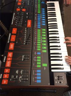 MATRIXSYNTH: Rare Vintage ARP Quadra Analog Synthesizer Keyboar...