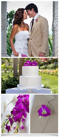 Our beautiful beginnings wedding theme and cake at the resort in St. Lucia