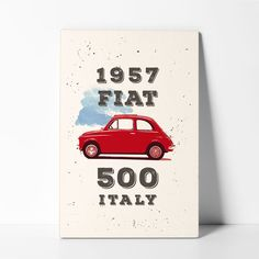 Wood Postcards Fiat 500 Fiat 500 Pop, Postcards, Wood, Vintage, Art, Paintings, Art Background, Woodwind Instrument, Timber Wood