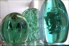Glass Paperweights  Done this before it's gets really hot working infront of that fire!