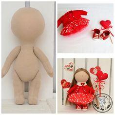 "Kit Blank muñecas cuerpo-24 cm (9,44"") con ropa muñecas en blanco Beige muñeca trapo blanco muñeca muñeco de trapo cuerpo el cuerpo de la muñeca muñeca paño textil"