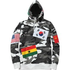 Supreme Flags Pullover