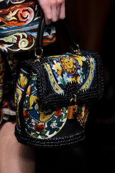 Dolce & Gabbana Spring Handbag Line for 2013 #handbags #bags #accessories