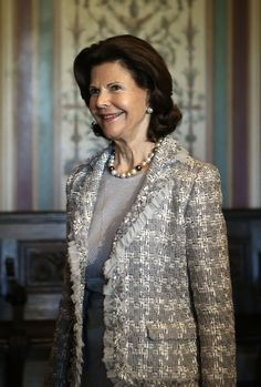 Queen Silvia - Swedish Royals Meet With the Swedish Congressional Caucus