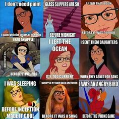 If princesses were hipsters.