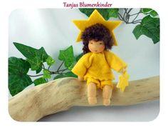 Sternenkind - Blumenkind Jahreszeitentisch von Tanjas Blumenkinder auf DaWanda.com