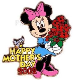 disney happy mom's day collector's pin