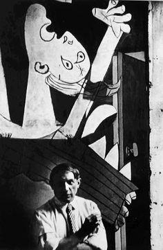 Pablo Picasso por David Seymour