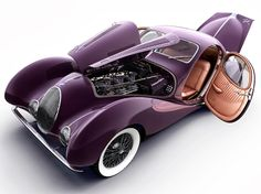 1937 Talbot-Lago T150 C SS. The Goutte d'Eau (teardrop) styling inspiration was perfected on this baby.