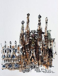 20130708 Sagrada Familia, Barcelona