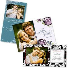 Wedding Save The Date Photo Greeting Cards    Use this for save the dates, invites, and/or thank yous. Much cheaper, and more personal, than anything else I've seen.