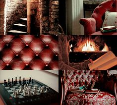 House Common Room aesthetics - Gryffindor Tower