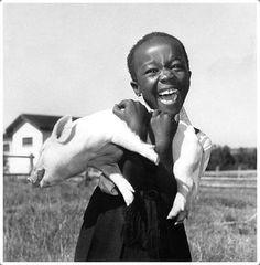 The happiest of all girls. Photograph by Jurgen Schadenberg