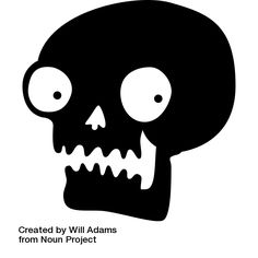 How to Make Cheap Last-Minute Halloween Window Decoration #halloween #decoration #decor #cheap #last-minute #spooky #scary #creepy #diy #template #stencil #example #skull #undead #window #walls #silhouette