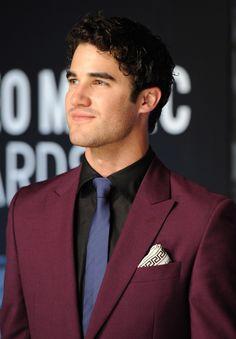 Darren Criss at the 2013 MTV Video Music Awards at Barclays Center, Brooklyn, NY