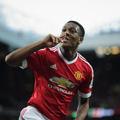 Anthony Martial scoring on his Manchester United debut against Liverpool FC