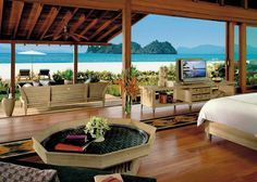Beach Villa at Four Seasons Langkawi http://www.pureluxuryholidays.co.uk/resorts/four-seasons-langkawi/