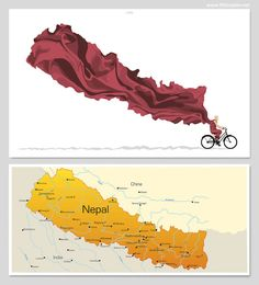 Artist Thomas Yang designed a powerful poster for #Nepal after devastating #earthquakes. All proceeds will be donated to the Red Cross Nepal Earthquake Relief fund.