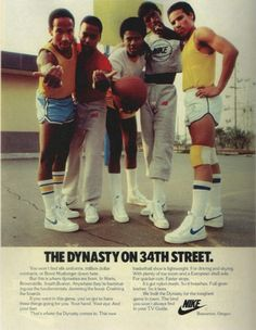 """""""The Dynasty on 34th Street"""" vintage 70s ad."""