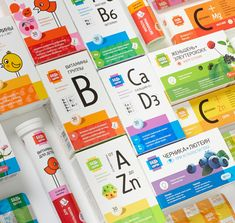 """""""Be Healthy"""" Vitamin Package Concept on Behance"""